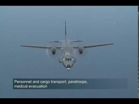Airbus Defence and Space - C295 Maritime Patrol Aircraft (MPA) & Anti-Submarine Warfare (ASW) [480p]