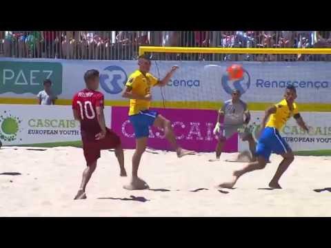 Beach soccer 2016 BSWW Mundialito  Portugal  Brazil