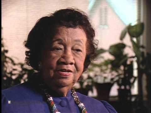 "Interview with Dorothy Height for ""The Great Depression"""