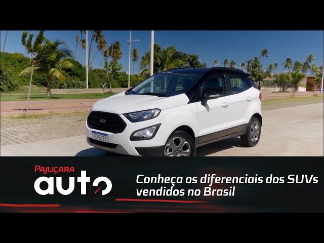 Conheça os diferenciais dos SUVs vendidos no Brasil: Ford Ecosport