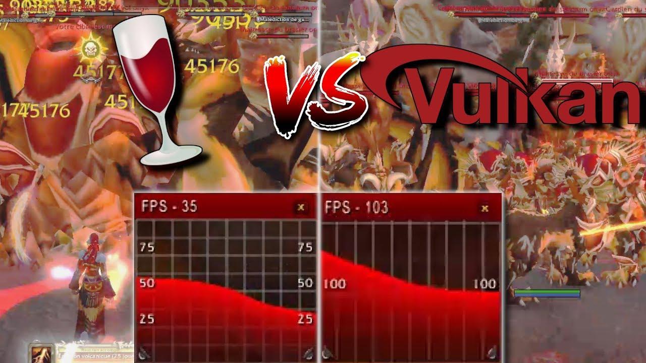 [LinuxBenchmark] WOW comparison Wine staging vs DXVK