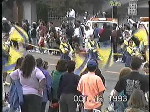 Barstow Junior High School Band @ the 1993 Buckboard Parade