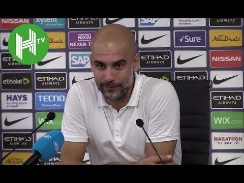 Pep Guardiola explains Leroy Sane's absence from Manchester City squad - Manchester City 2-1 Newcast