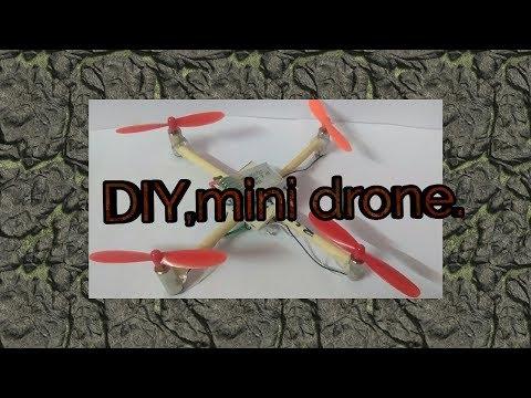 Diy.experimental.drone.using.popsicle.sticks