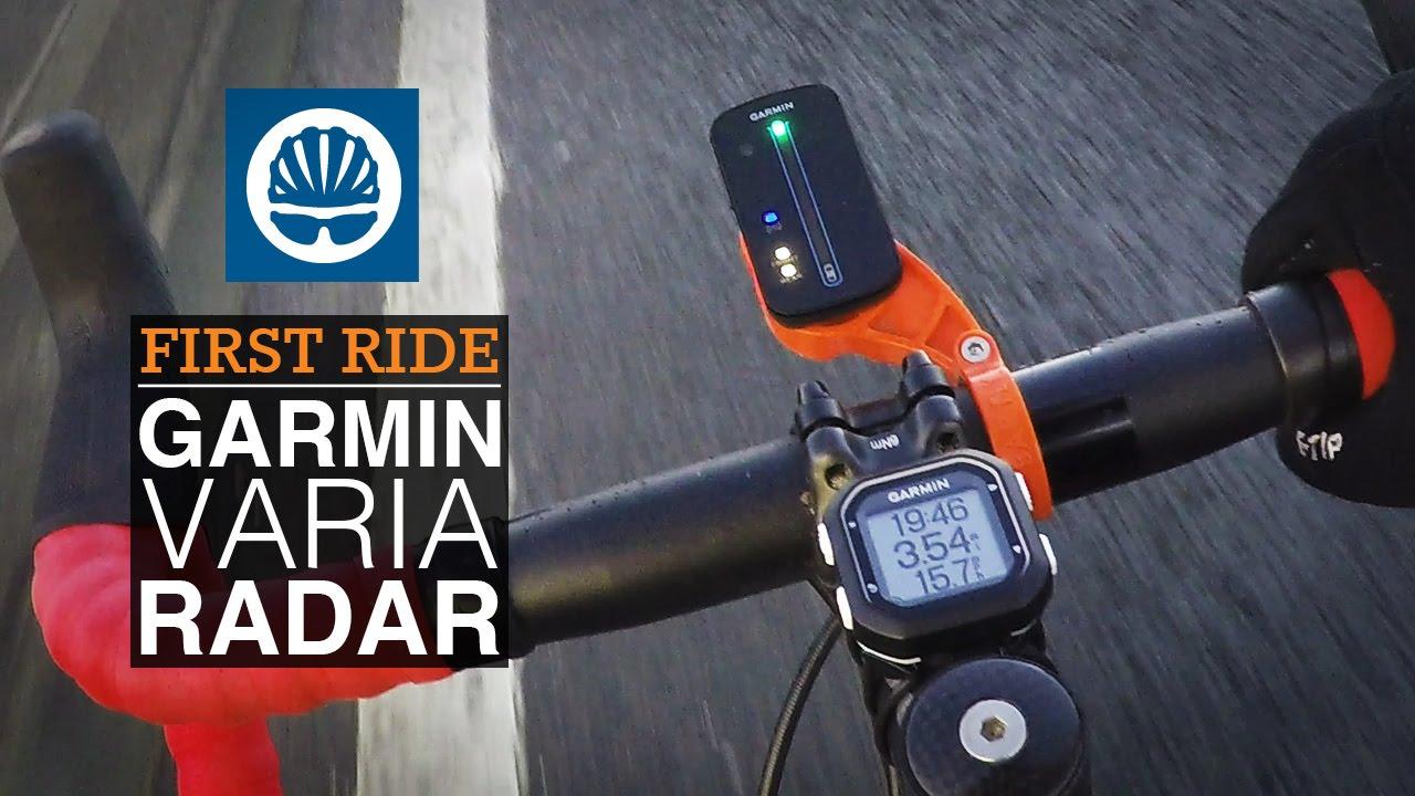 Garmin Varia Bike Radar - First Ride