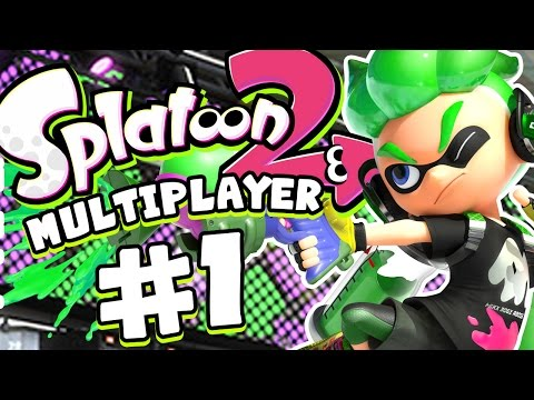 Splatoon 2 Gameplay - Mutliplayer Turf War #1