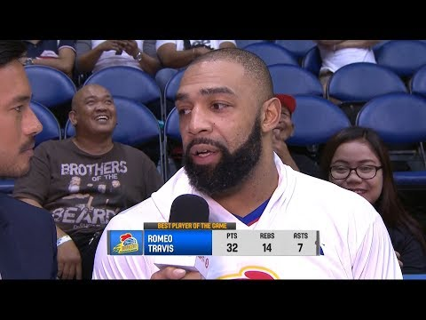 LeBron James REACTS To Magnolia Import Romeo Travis' Monster Game