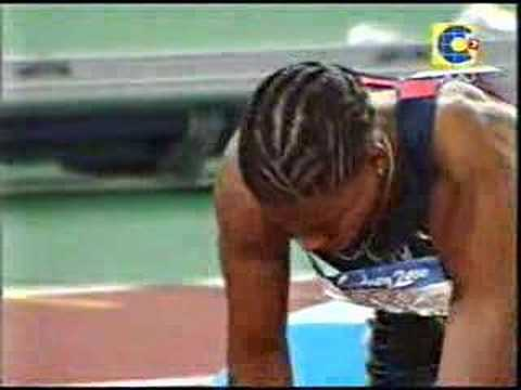 Marion Jones vs Melinda Gainsford - Final, 200m, Sydney 2000