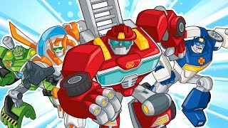 Transformers Rescue Bots: Disaster Dash - Hero Run - Budge Studios Walkthrough