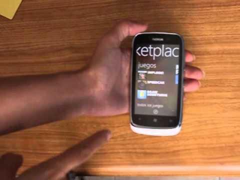 You Tube test on Nokia Lumia 610