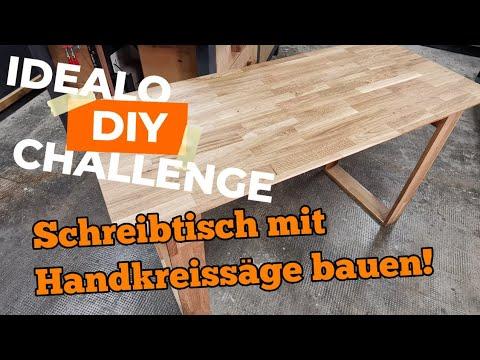 Idealo Diy Challenge! Ich verzichte auf mein Werkzeug. Schreibtisch selber bauen!