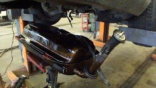 Снятие и ремонт топливного бака Mercedes W124 Removal and Repair of a Fuel Tank(, 2015-05-30T17:21:48.000Z)