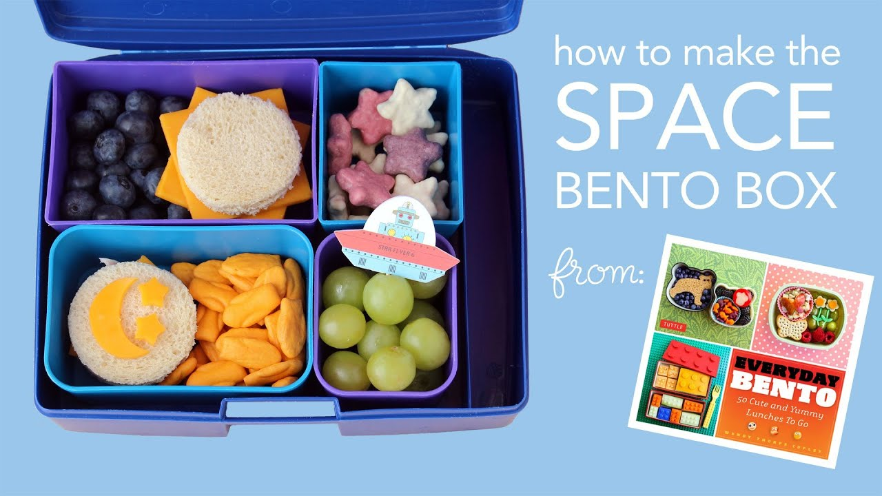 learn to make a space bento box from everyday bento an american bento box tutorial funnycat tv. Black Bedroom Furniture Sets. Home Design Ideas