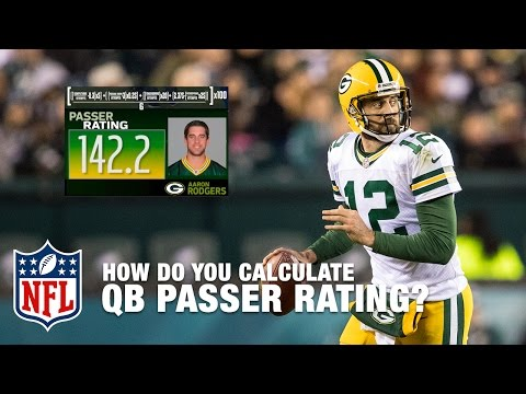 The Science Behind Calculating Passer Rating | NFL