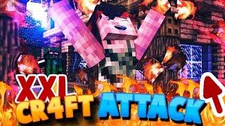 ALLE HÄUSER der STADT BRENNEN 🔴[XXL] KOMPLETTE ESKALATION 🔴  Craft Attack 4 #22