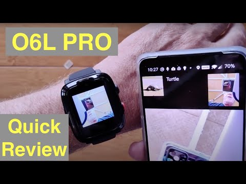OMATE O6L PRO Virtual SIM Smartwatch with FREE 3 Yr 4G LTE Talk/Text/Video+ Services: Quick Overview