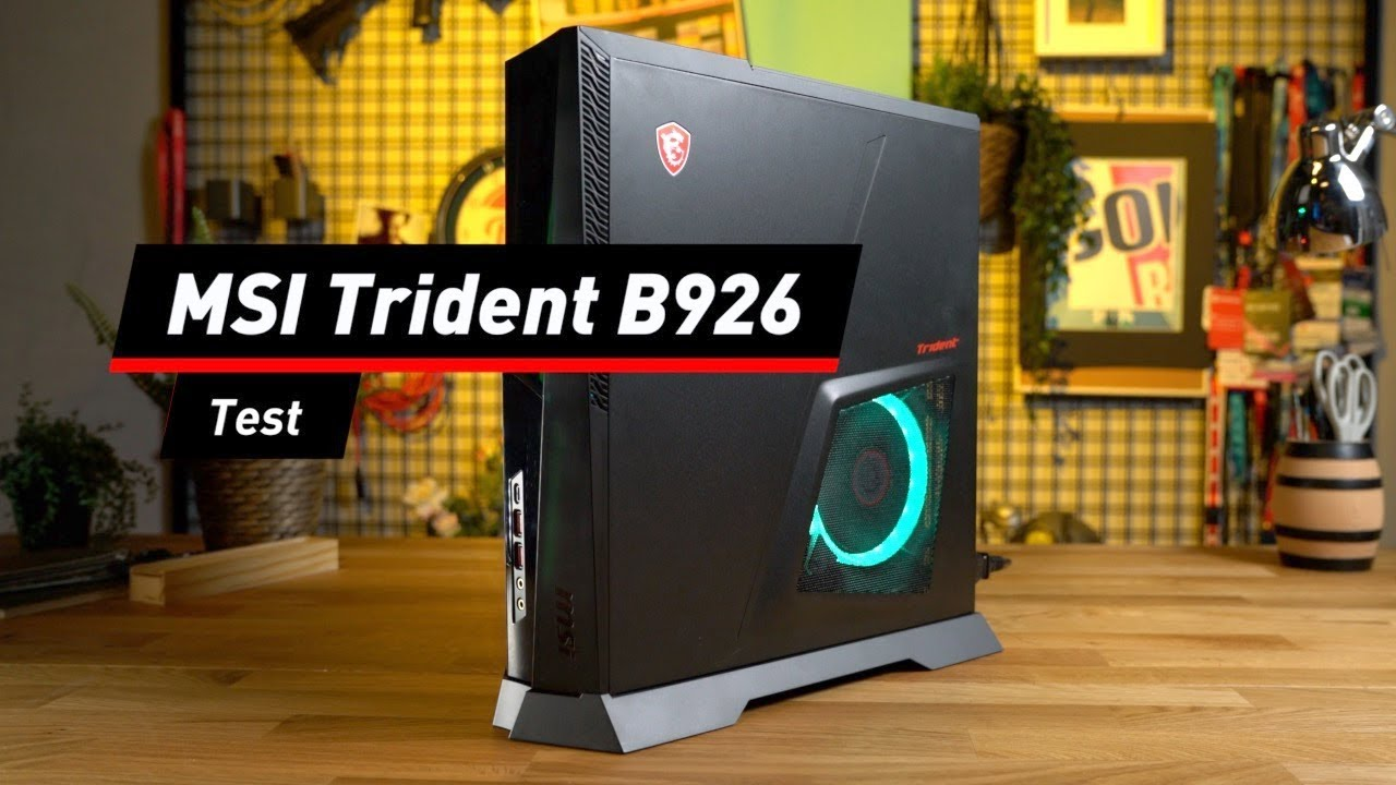 Kraftwerk: Gaming-PC MSI Trident B926 im Test
