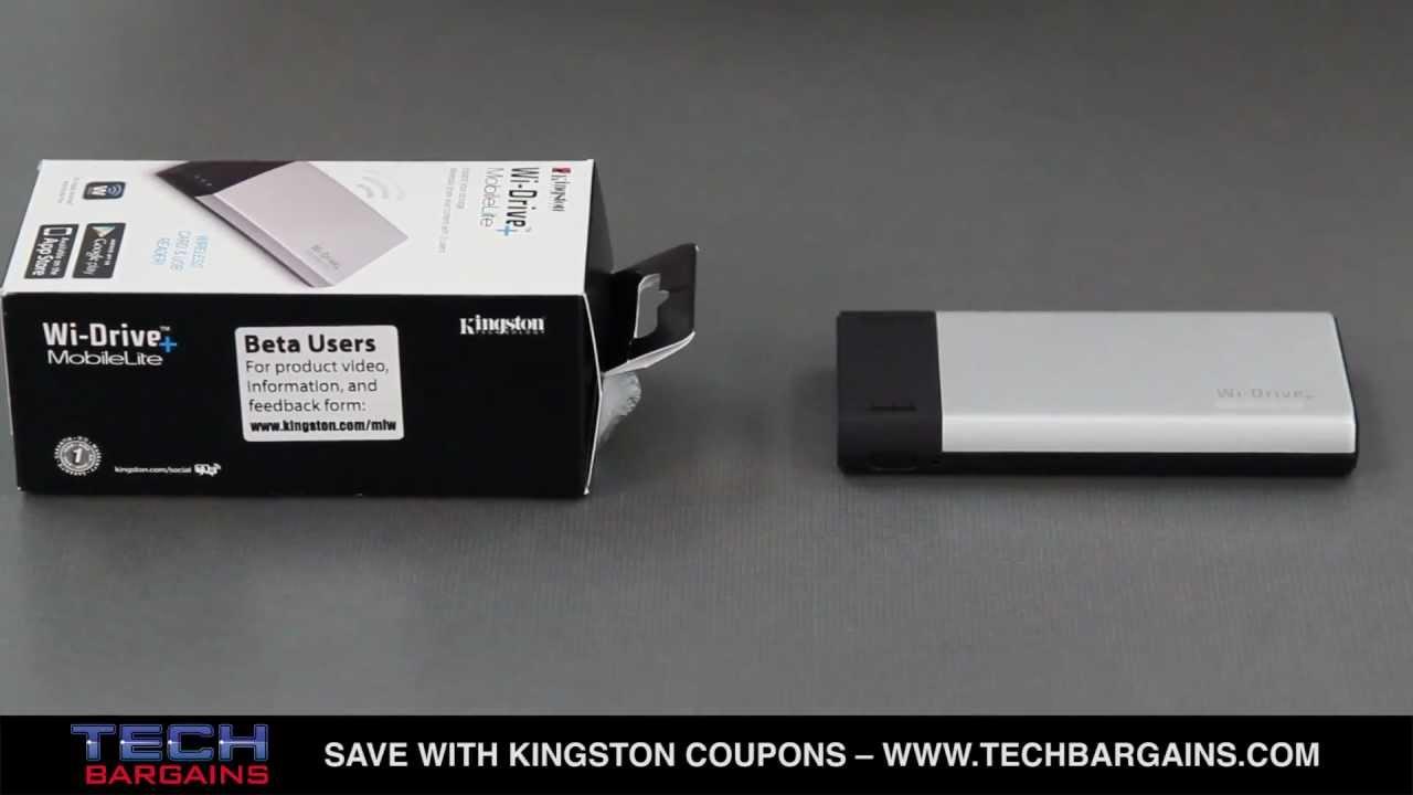Kingston MLWG3//64ER MobileLite Wireless Pro card reader USB 2.0//Wi-Fi//Ethernet