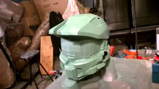 3D Printed Master Chief Helmet 8
