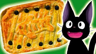 Make your own HERRING PIE from KIKI'S DELIVERY SERVICE! Anime in Real Life Miyazaki Ghibli