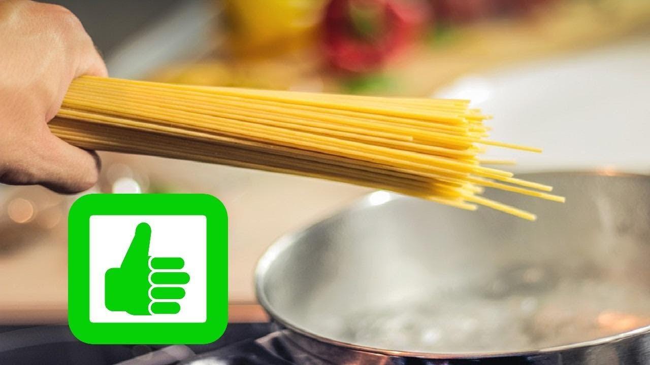 Spaghetti Richtig Kochen Ohne Kleben Nudeln Perfekt Kochen Anleitung Tipps Und Tricks Youtube
