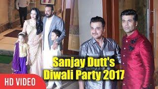 Karan Johar At Sanjay Dutt Diwali Party 2017 | Sanju Baba