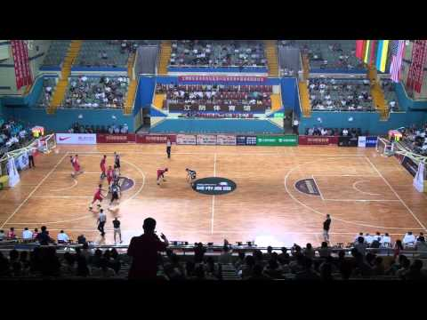 2014 USA All-Stars vs. Lithuania in China (Q2)