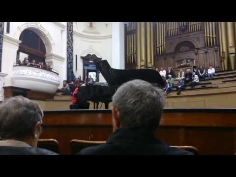 David Helfgott playing La Campanella (Franz Liszt) - Cape Town City Hall, 15 September 2013.