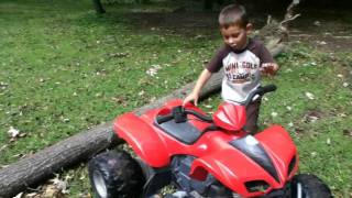 baby jake episode 1 riding a quad with jacob
