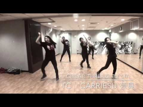 Cheap Thrills By Sia Feat. Sean Paul Choreography By CarrieSu 芸貝