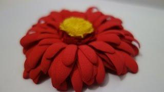Гербера из фоамирана. Цветы. Мастер класс / Gerber foam. Flowers. Master Class Viva Woman