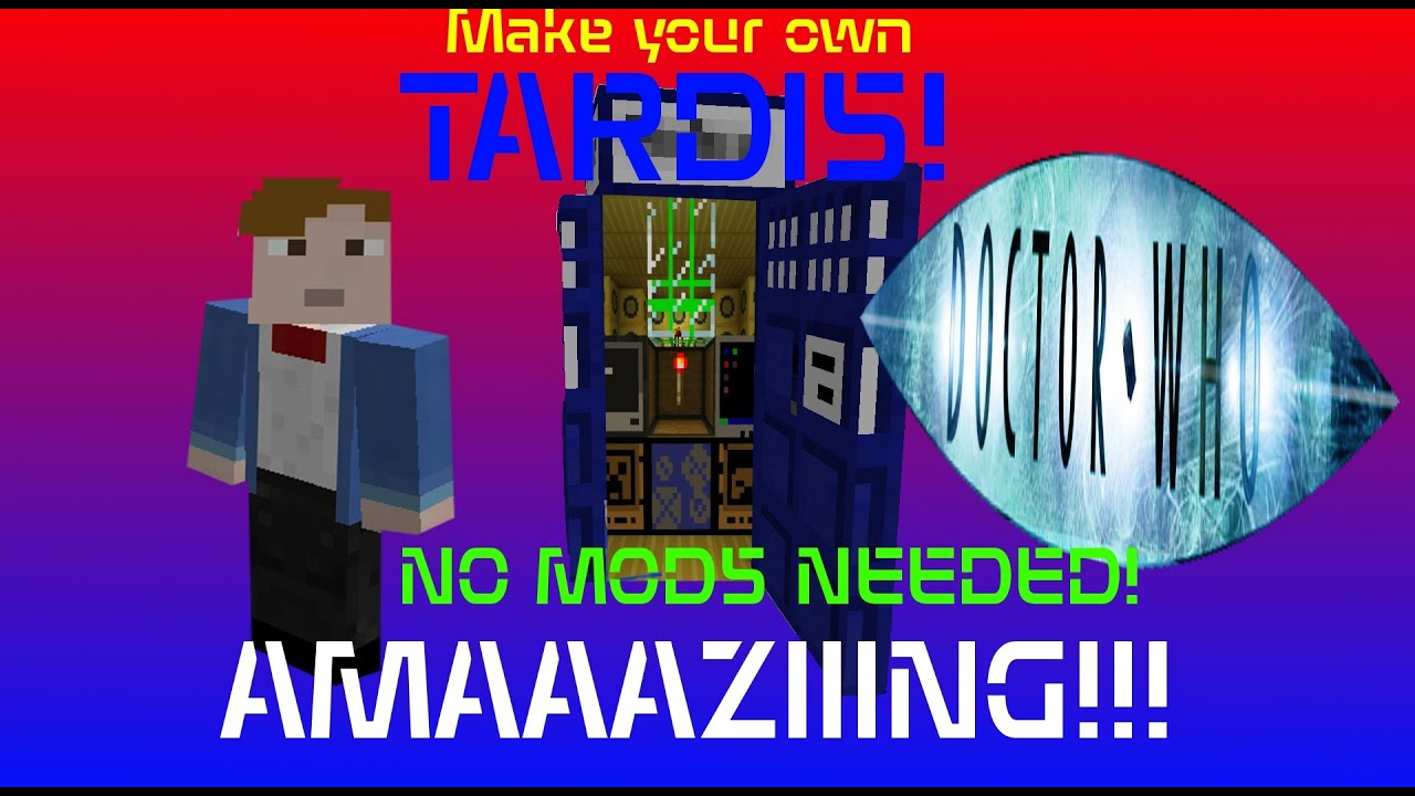How To Build Tardis In Minecraft No Mods