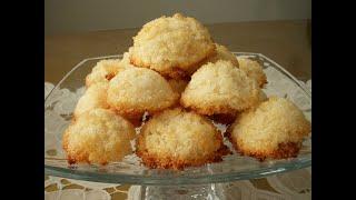 شیرینی نارگیلی Cocount cookies  Shirini nargili