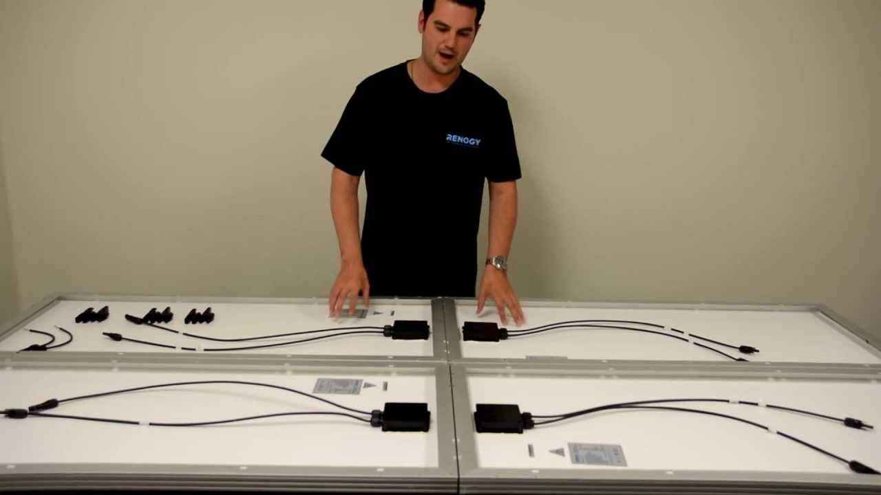 wiring diagram for solar panels pro comp distributor renogy: how to connect your in series and parallel pt. 2 - youtube
