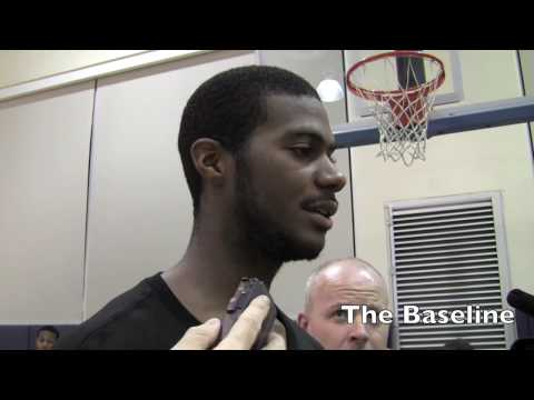 Earl Clark, James Johnson and Sam Young NBA draft workout