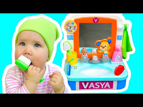 This Is The Way We Brush Our Teeth - Baby Song by Vasya