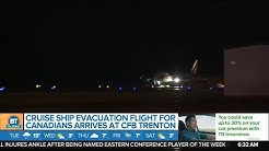 Flight carrying Canadians from coronavirus-infected cruise ship land at CFB Trenton