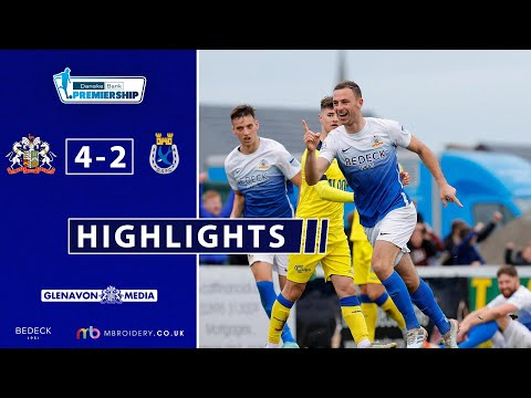Glenavon Dungannon Goals And Highlights