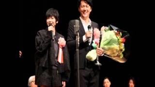 ヨコハマ映画祭。主演男優賞を受賞した福山雅治。 続いて、日本アカデミ...