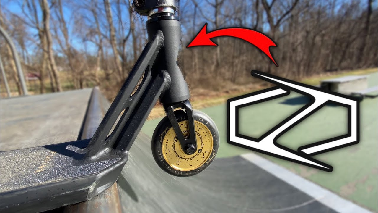 TESTING BRAND NEW FUZION SCOOTER DECK!
