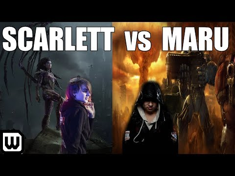 Starcraft 2 Clash of the Titans - Scarlett (Zerg) vs Maru (Terran)