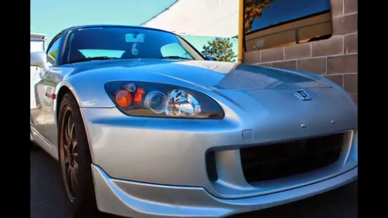 Honda S2000 Headlight Restoration Hlr With Protection Coating Over Spider Autogl