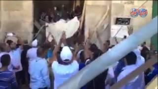 بالفيديو || P'P'شاهدP' هتافات النصر بعد انسحاب الاحتلال P'P'الاسرائيليP' من المسجد P'P'الأقصى