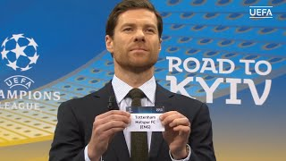 UEFA Champions League Round of 16 2017/18 Draw Result