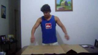 Como dobrar uma folha A0