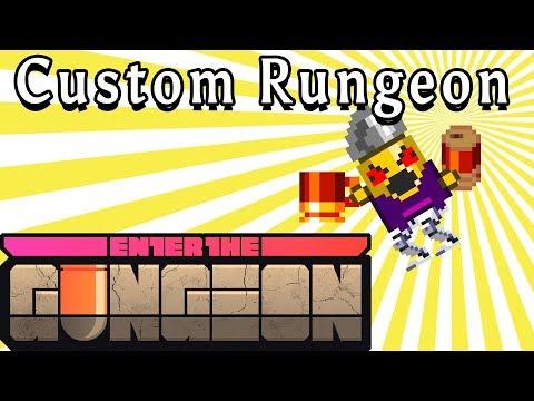 Enter the Gungeon | SUPER SPEED RUN | Custom Rungeon