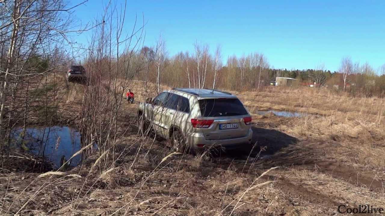 Subaru Outback Vs Forester >> Off Road Test Subaru Outback vs Jeep Grand Cherokee vs ...