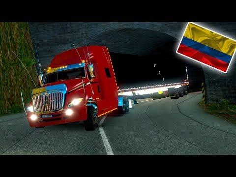RUMBO A FLORENCIA - CAQUETA!!! | INTERNATIONAL PROSTAR!!! | EURO TRUCK SIMULATOR 2 | COLOMBIA