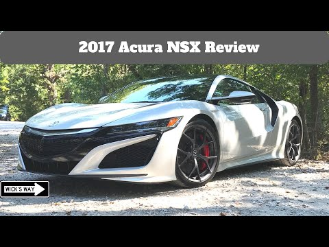 2017 Acura NSX Review | The Car That We Need
