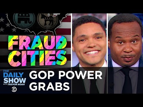 Lame Duck Republicans Try to Strip Power from Newly Elected Democratic Officials   The Daily Show